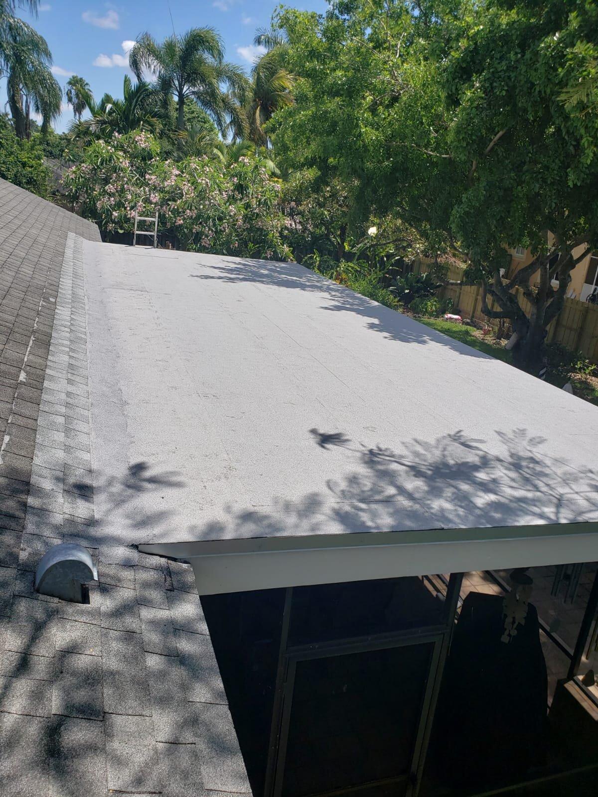 Flat Roof - Seal Tight Roofing - Broward, Florida